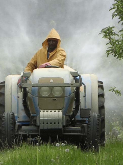 Ecosoil Chemical pesticide spraying